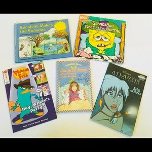 Other - Mixed Collection of 5 Intermediate Books for Kids
